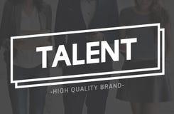 Talent-Fähigkeits-Fähigkeits-Sachkenntnis-Leistungs-Fachmann-Konzept lizenzfreie stockfotos