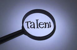 Talent stock illustration