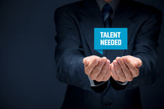Talent needed Stock Images