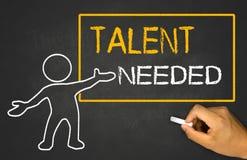 Talent needed Royalty Free Stock Photos