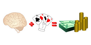 Talent poker Stock Images