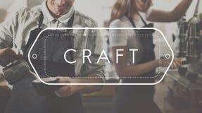 Talent qualifié fait main Art Craftsmanship Concept de métier photographie stock libre de droits