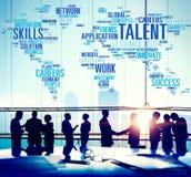 Talent-Sachkenntnis-Genie-Fähigkeits-Fachmann-Konzept lizenzfreie stockfotografie