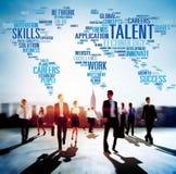 Talent-Sachkenntnis-Genie-Fähigkeits-Fachmann-Konzept lizenzfreie stockfotos