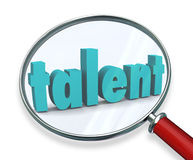 Talent Search Looking For Unique Special Skilled People Royalty Free Stock Photography