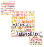 Talent search Royalty Free Stock Images