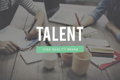 Talent Skill Abilities Expertise Quality Concept.  Stock Photography