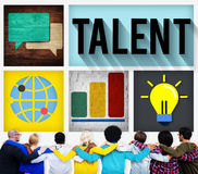 Talent Skill Experience Expertise Professional Concept royalty free stock image