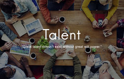 Talent Skills Abilities Expertise Professional Concept Royalty Free Stock Photos