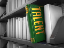 Talent - Title of Green Book. Royalty Free Stock Image