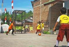 talent van voetbal stock foto
