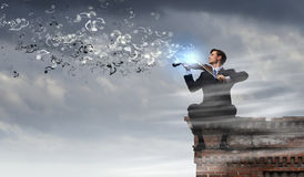 Talented people are to be on top! Stock Photography
