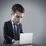 Talented skilled businessman Royalty Free Stock Photography