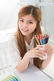 Talented student Royalty Free Stock Image