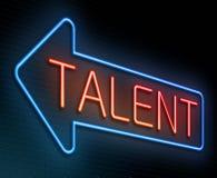 talentenconcept royalty-vrije illustratie