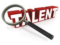 Talento Fotografie Stock