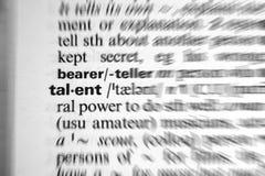 Talento Imagem de Stock