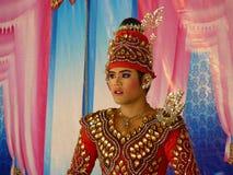 Talento do canto de Thailands Fotografia de Stock