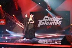 talentos полуфинала Чили de PA s Стоковые Фото