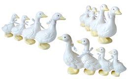 Talents en céramique de knick de canard photographie stock