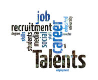 Talents Recruitment Royalty Free Stock Images