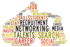 Talents Recruitment Royalty Free Stock Photos