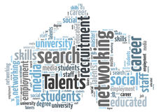 Talents Recruitment Stock Photo