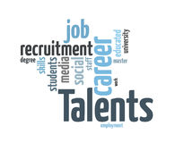 Talents Recruitment Royalty Free Stock Photography