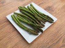 Talerz asparagus Obraz Stock