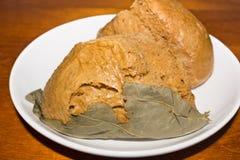 Talerz Chiński Pszeniczny deser Zdjęcie Stock