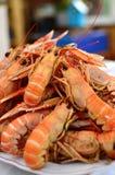 Talerz crayfish obraz stock