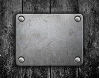 talerz metalu refleksje konsystencja Zdjęcia Stock