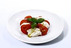 Talerz pomidory Fotografia Royalty Free