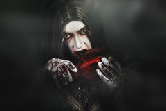 Tales from a vampires crypt Stock Photography