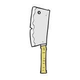 talhador de carne cômico dos desenhos animados Fotos de Stock Royalty Free