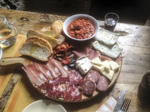 Talian早餐 库存照片