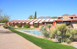 USA, AZ: Frank Lloyd Wright - Taliesin West/Studio Royalty Free Stock Photos