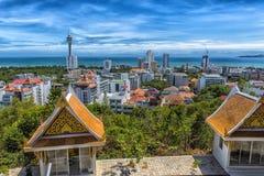 Taliland, Pattaya, άποψη 27.06.2017 της πόλης από το observat Στοκ φωτογραφίες με δικαίωμα ελεύθερης χρήσης