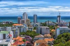 Taliland, Pattaya, άποψη 27.06.2017 της πόλης από το observat Στοκ Εικόνες