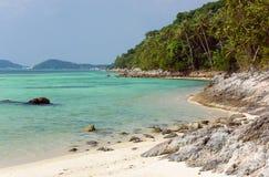 Taling Ngam海滩 酸值苏梅岛海岛 泰国 库存照片