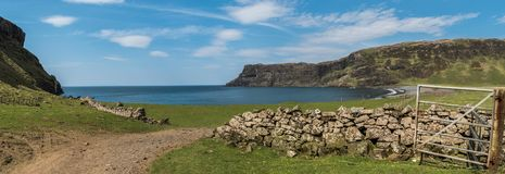 Talisker Bay, Isle of Skye, Scotland stock photos