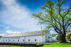 Talisker Distillery. The famous Talisker Distillery. It is the old distillery on the Isle of Skye, Carbost, Scotland Stock Photos