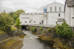 Talisker distillery Stock Photo