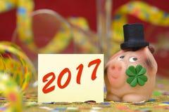 Talismán en los Años Nuevos 2017 Imagenes de archivo