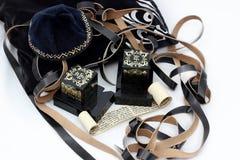 Talit, Tfilin and Kipa – Jewish prayer objects Stock Photography