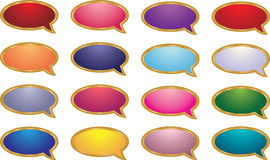 Talk Bubbles Royalty Free Stock Photography
