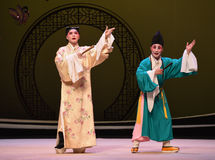 "Talk with eloquence-Kunqu Opera ""the West Chamber"" Stock Photo"