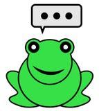 Talk frog Stock Photography