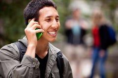 Talk Phone Outdoor Royalty Free Stock Photo