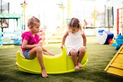 Talk and play. royalty free stock image